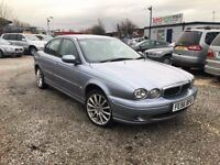 2006 Jaguar X-Type 2.0 D Classic 4dr PSH+FULL BLACK LEATHER