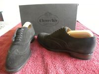 Churchs Brown Suede shoes, Brouche style. Size 6