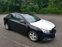 2011 CHEVROLET CRUZE 1.6 LS 4 DOOR HATCHBACK BLACK 12 MOTHS M.O.T