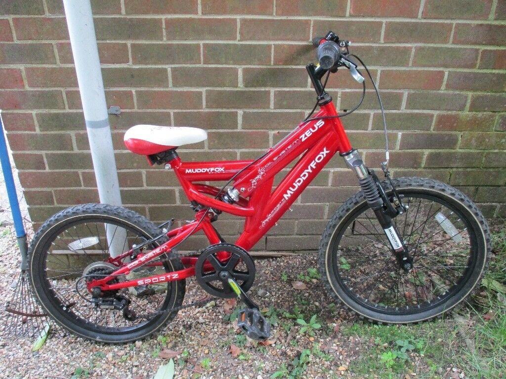 "Muddy Fox (Zeus) kids bike with 20"" wheels and 5 gears"