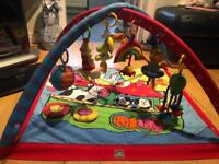 Activity mat with extra dangly toys included