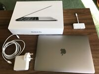 Apple MacBook Pro 13-inch model with Touch Bar and Touch ID-space grey color