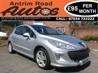 2010 PEUGEOT 308 SPORT 1.6 HDI 110BHP ** SERVICE HISTORY ** FINANCE AVAILABLE WITH NO DEPOSIT **