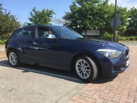 BMW 1 SERIES 118D SE 2013 2.0 LITRE DIESEL £20 TAX FULL SERVICE HISTORY LADY OWNER 87000 MILES