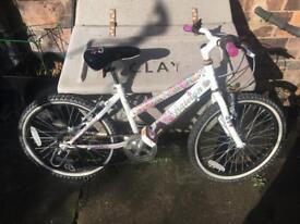Lovely girls bmx Raleigh bike