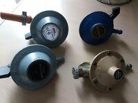 4 gas bottle regulators