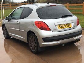 Peugeot 207 car for sale