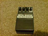Digitech Metal Master Heavy Metal Distortion Pedal