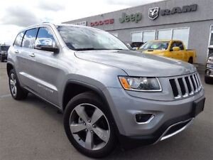 2015 Jeep Grand Cherokee Limited--Sunroof,Back-up Camera--High R