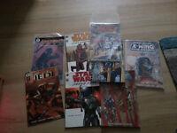 starwars graphic novel and comic lot star wars droids jango fett