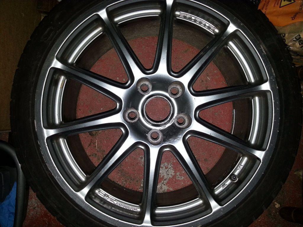 Rx8 Pz Oz Prodrive Wheels 18 Quot 5x114 In Cowdenbeath Fife