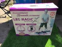Leg magic workout exercise machine brand new in box bargain