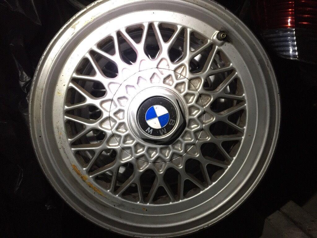 Bmw E34 5 Series 5 Stud Bbs Alloy Wheels 15 Inch X4 In Aldershot Hampshire Gumtree