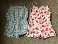 Playsuits - Age 2-3