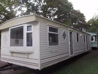 2003 Atlas Diamond Super static caravan for sale at Chesterfield Country Park in Berwickshire