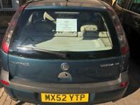Vauxhall Corsa 1.4 Petrol 3 Door Hatchback 2002