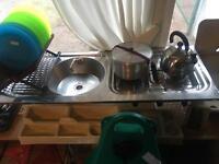 Caravan Sink and cooker