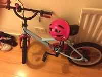 "Girl's bike 16"" for sale"