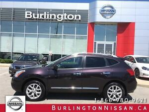 2013 Nissan Rogue SL, NAVi, LEATHER, ROOF, ACCIDENT FREE 1