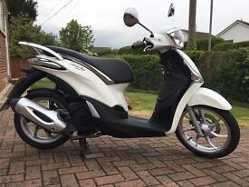Piaggio Liberty 125 Scooter New Design 2016 66 Plate ABS