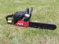 "Cobra 16"" chainsaw ex display clearance deal"
