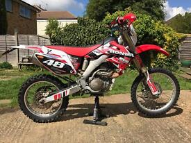 Honda CRF 250x, 2007, Road Legal, 11 Months MOT, not rmz kxf yzf drz