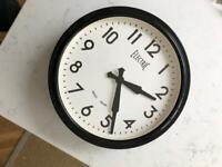 Newgate electric station wall clock