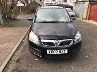 2007 Vauxhall Zafira 1.9 CDTi Life 5dr Manual @07445775115