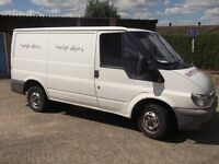 FORD TRANSIT SWB CAMPER/FESTIVAL BUS/FISHING/UNFINISHED PROJECT.2005 MODEL