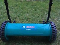 Bosch AHM 38G push manual lawnmower