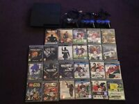 playstation 3 with 23 games 3 controllers and all cables