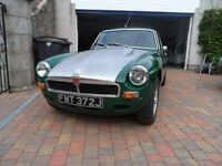 MGB GT Sebring Bodied with sliding roof, 1971 registered In very good condition!