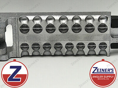 2oz brand new 1169 Bell Pear Sinker Weight Do it Mould 8 cavity 1//8oz
