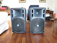 RCF 325a x 2 Active speakers