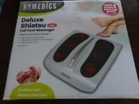 HoMedics Delux Shiastu Heated Foot Massager. Great condition and with box