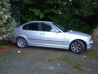 BMW 320i 2.2, 2002 - 12 mths MOT - owned for 8 years