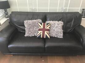 DFS Real leather 2 seater sofa £50