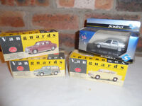 Vanguard Cars-4 off, and one Solido Citroen ZX Aura. Boxed As New