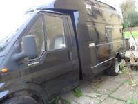 MOBILE CATERING VAN SNACK BAR BURGER VAN FORD TRANSIT T350