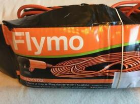 Flymo 15m 2 core replacements cable new £5 fly 102