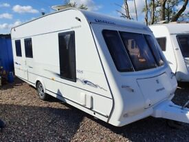 Compass omega 505/5 berth 2008 full air awning Separate toilet and shower