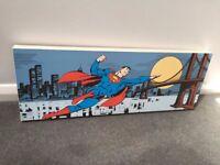ASPACE Canvas print Superman