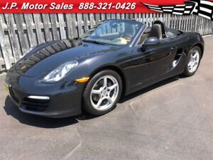 2013 Porsche Boxster Manual, Leather, Heated Seats, Convertible