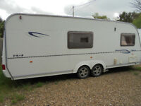 2006 Coachman Wanderer 19 - 4 Berth Twin Axle Touring Caravan With Dinette Area