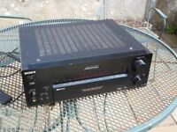 Sony STR DB930 Home cinema amp, repaired, great quality with Phono input