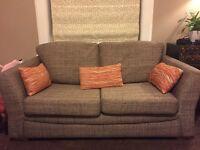 Ikea, 2 seater, fabric, sofa bed