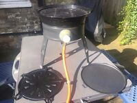 Cadac Safari Chef - Gas garden/camping grill and bottle