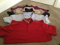 Ian poulter golf tshirts size medium not found in the U.K. Size