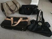 Selection of women's handbags (USED)