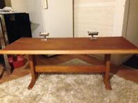 Retro hardwood table for sale
